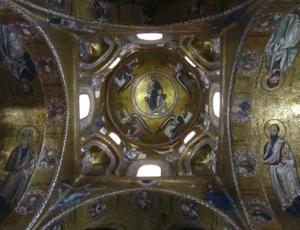 Mosaici della cupola di Santa Maria dell'Ammiraglio detta la Martorana, Palermo, 1143