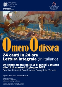 Locandina Odissea Venezia